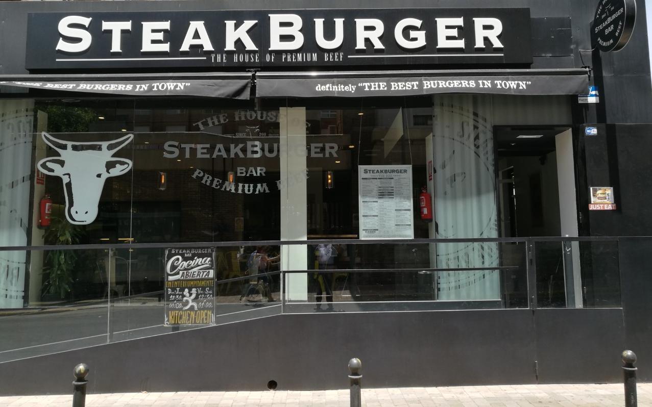 steak burger street