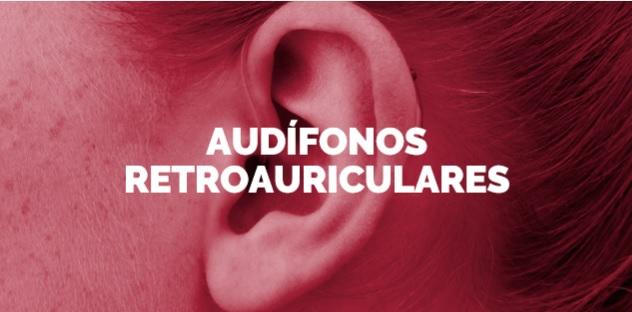 audifonos retroauriculares