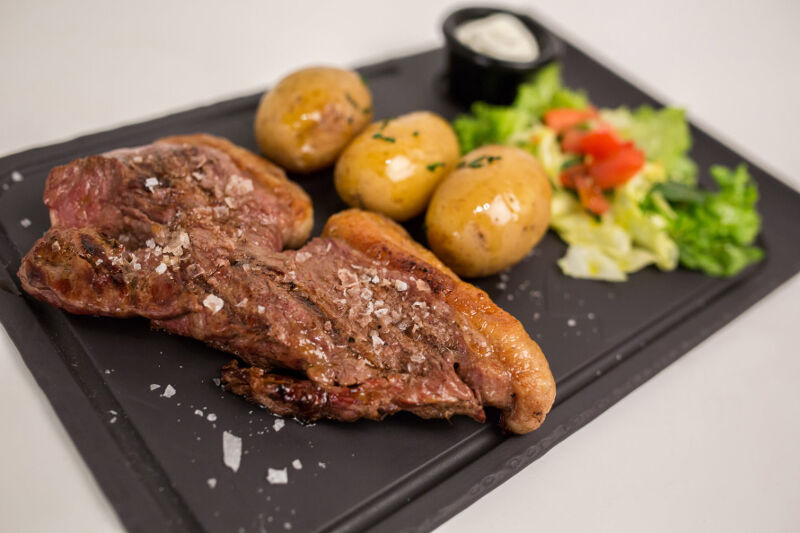 steak burger carnes