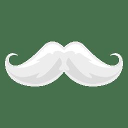 bigote blanco